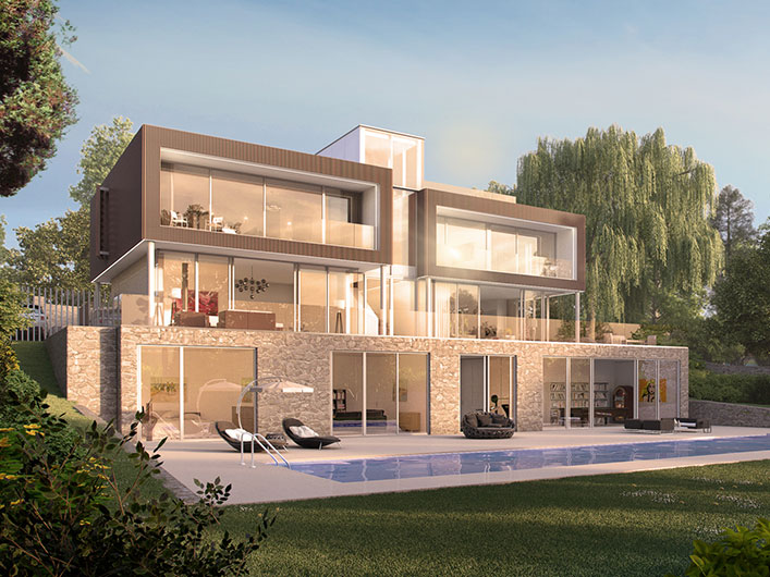 residential 3d architectural visualisation