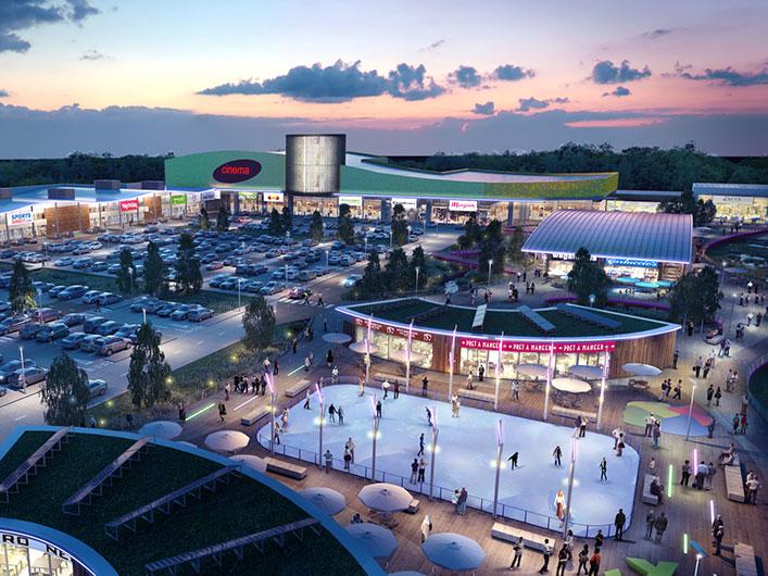 Retail 3d architectural visualisation