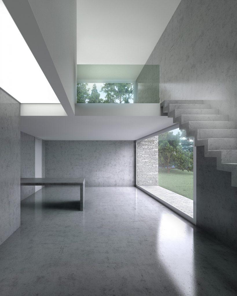 Architectural Visualisation, CGI, Interior Concrete