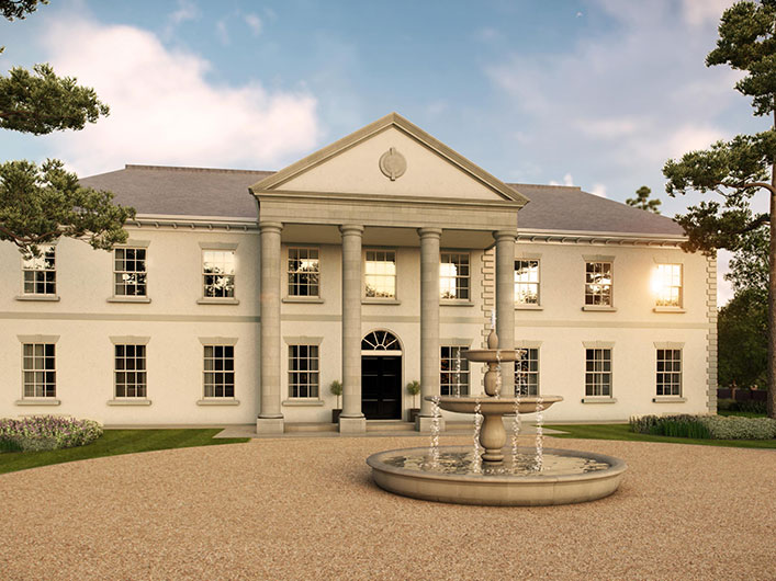 3d architectural visualisation residential