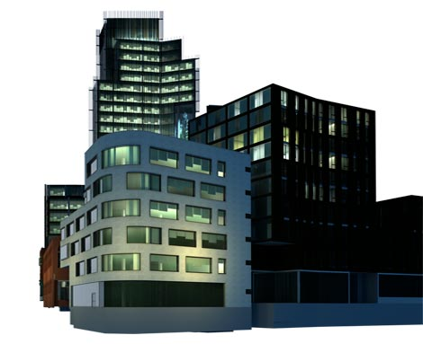3D Architectural Photomontage CGI, Digbeth, Birmingham