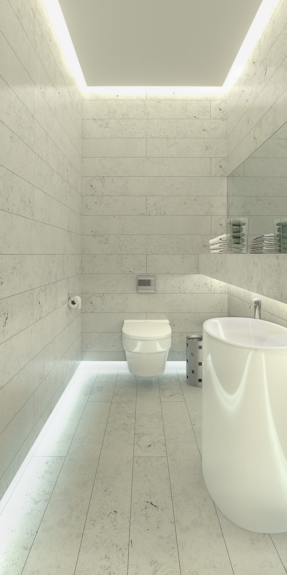 Interior Architectural Visualisation, CGI, Bathroom