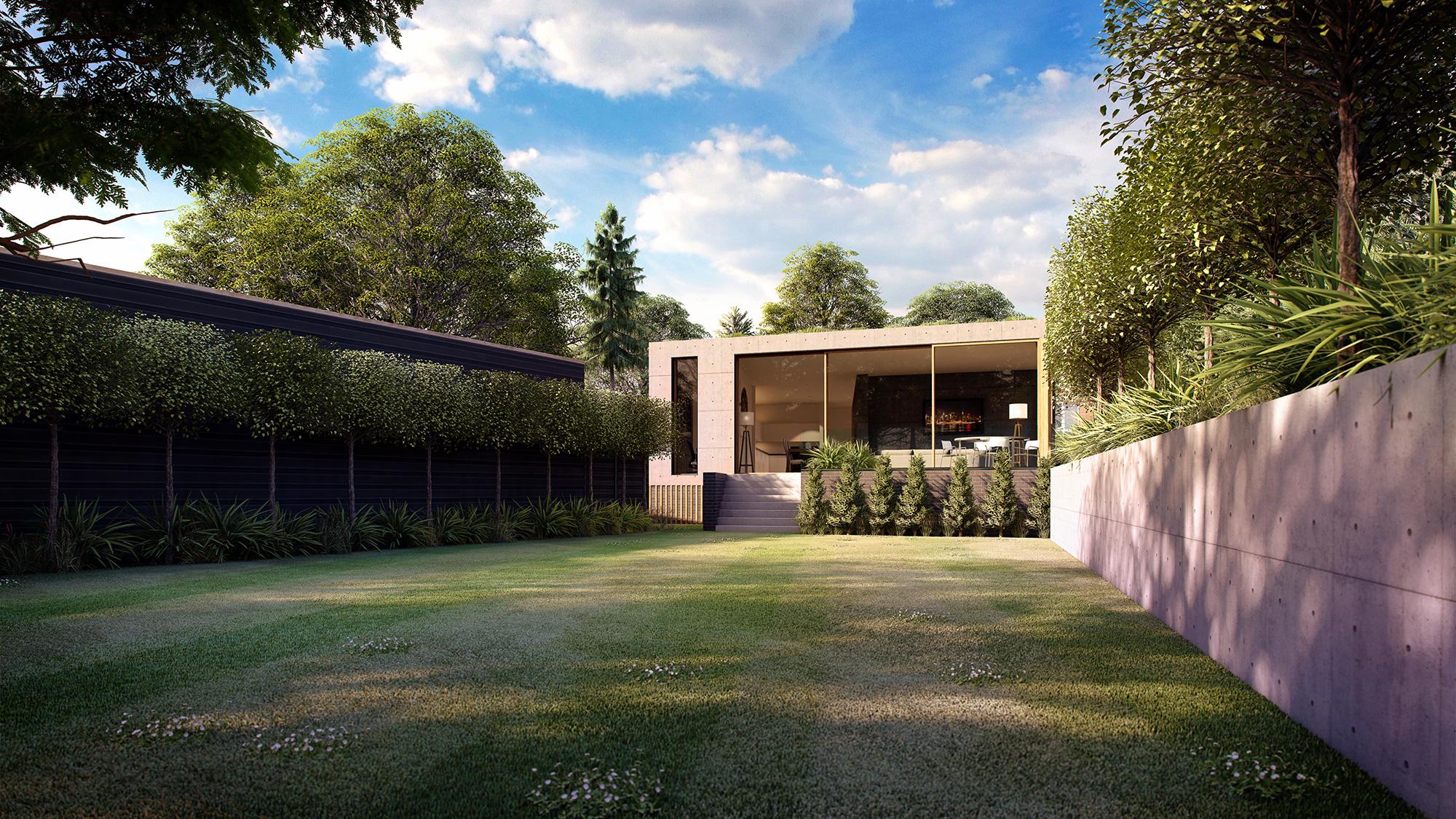 Sydenham Hill Residential CGI